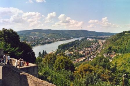 Blick Auf Rhein2 - H _